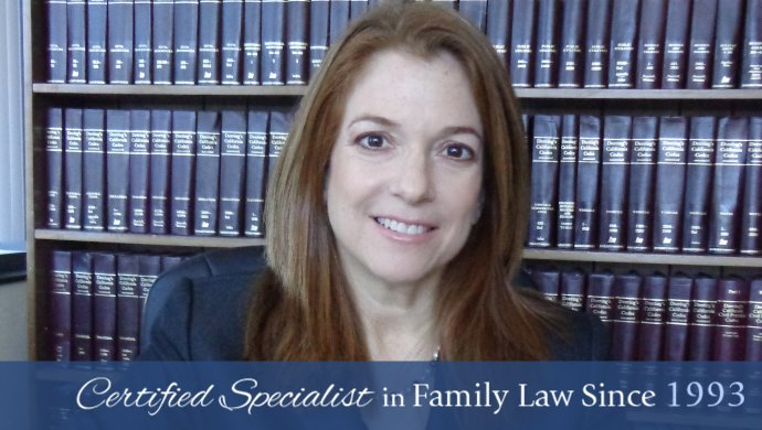 Certified Specialist in Family Law Since 1993